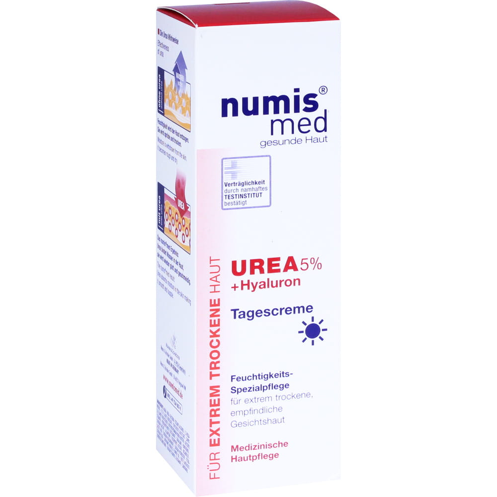 NUMIS med Urea 5% Tagescreme+Hyaluron 50 ml Tagescreme