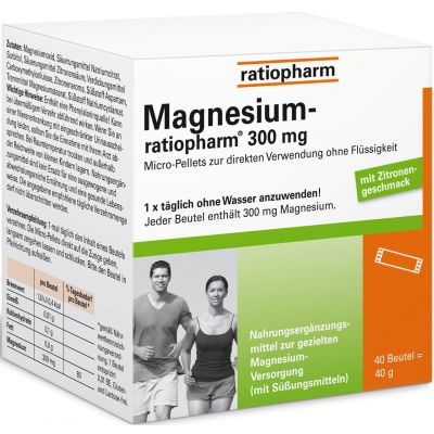 Magnesium-ratiopharm 300mg Granulat