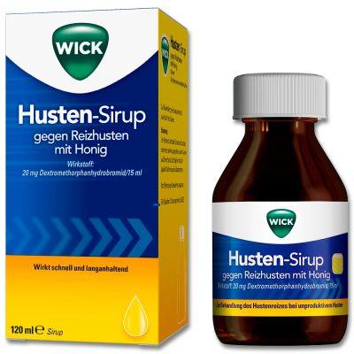 WICK Husten-Sirup gegen Reizhusten mit Honig