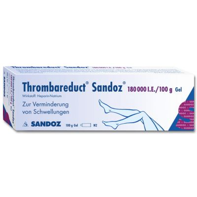 Thrombareduct Sandoz 180000 Gel internationale Einheit