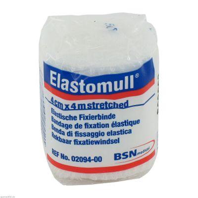 Elastomull 4mx4cm Fixierbinde