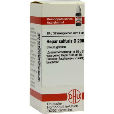 HEPAR SULFURIS D 200 Globuli