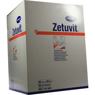 ZETUVIT Saugkompressen unsteril 20x20 cm