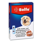BOLFO Flohschutzband braun für große Hunde