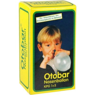 OTOBAR Nasenballon Kombipackung 1+5