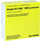 VITAMIN B12 AAA 1.000 µg Ampullen