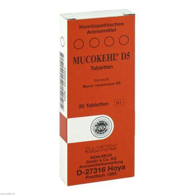 MUCOKEHL D 5 Tabletten