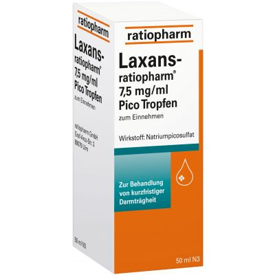 Laxans-ratiopharm 7.5mg/ml Pico Tropfen