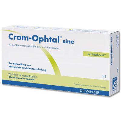 Crom-ophtal sine EDP