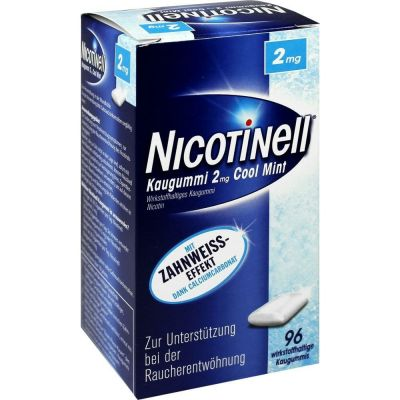 Nicotinell Kaugummi Cool Mint 2mg