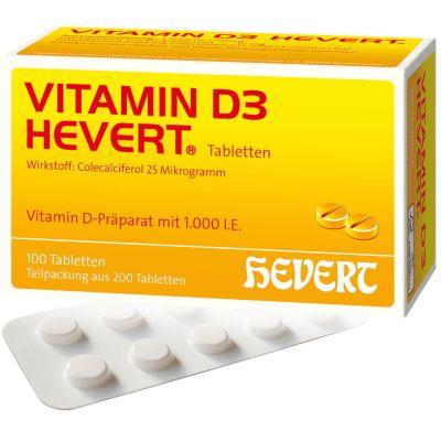 Vitamin D3-Hevert 1.000 I.E.