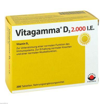 VITAGAMMA D3 2.000 I.E. Vitamin D3 NEM Tabletten