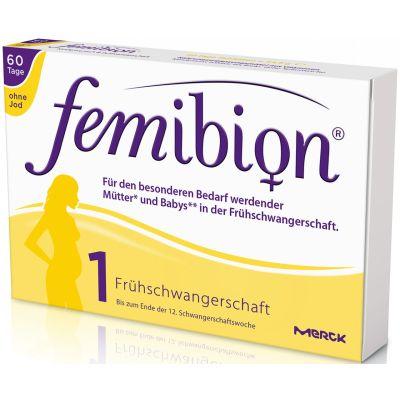 Femibion 1 Frühschwangerschaft ohne Jod