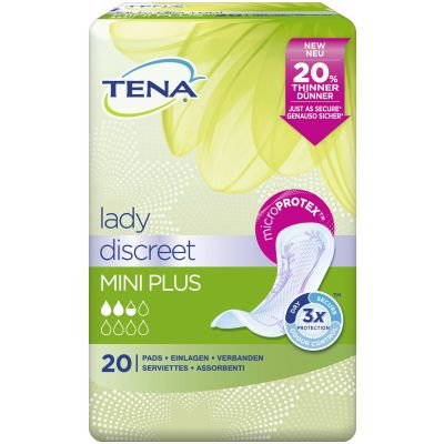 TENA Lady Discreet Mini Plus