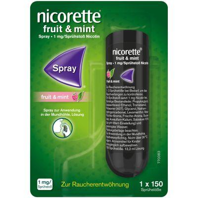 NICORETTE Fruit und Mint Spray