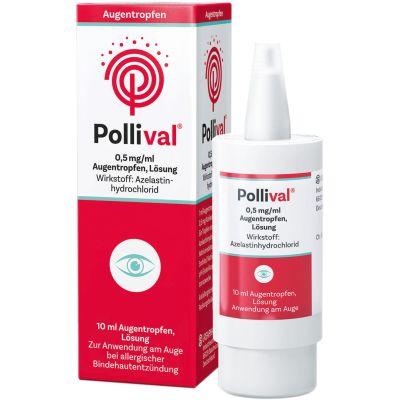 Pollival 0,5mg/ml Augentropfen bei allergischen Reizungen