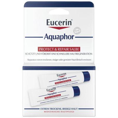 Eucerin® Aquaphor Protect & Repair Salbe - Schützt & pflegt stark beanspruchte Haut – Unterstützt die Hautregeneration