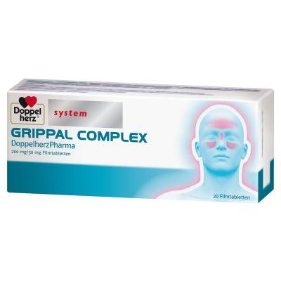 DOPPELHERZ system GRIPPAL COMPLEX bei Schnupfen