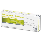 Omeprazol - 1 A Pharma 20mg bei Sodbrennen