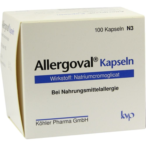 Allergoval-Kapseln bei Nahrungsmittelallergie