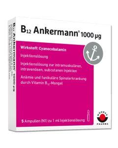 B12 ANKERMANN 1.000 myg Ampullen