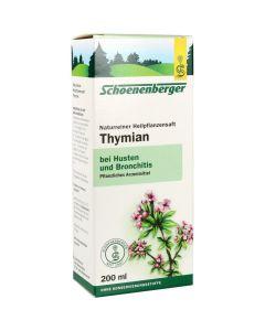THYMIANSAFT SCHOENENBERGER