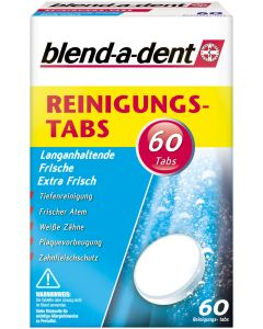 BLEND A DENT Reinigungs Tabs langanhalt.Frische