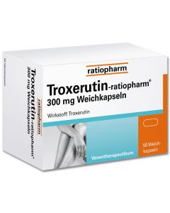 TROXERUTIN-ratiopharm 300 mg Weichkapseln