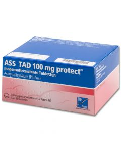ASS TAD 100 mg protect magensaftres.Filmtabletten
