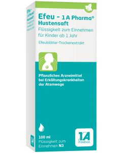 EFEU-1A Pharma Hustensaft