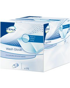 TENA WASH Glove with plastic Lining