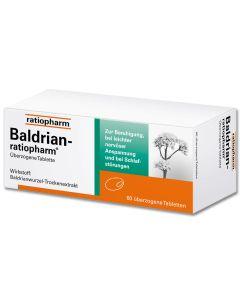 BALDRIAN-RATIOPHARM überzogene Tabletten