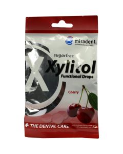 Miradent Xylitol Functional Drops Cherry