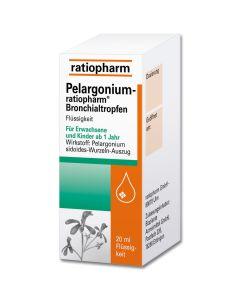 PELARGONIUM-RATIOPHARM Bronchialtropfen
