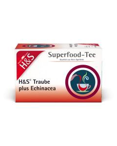 H&S Superfood-Tee Traube plus Echinacea