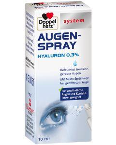 DOPPELHERZ Augen-Spray Hyaluron 0,3% system