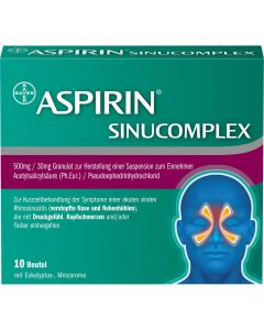 Aspirin® SinuComplex