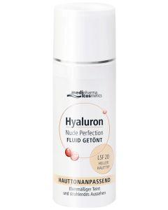Hyaluron Nude Perfection Getöntes Fluid LSF 20 - heller Hauttyp