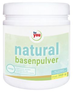 FOR YOU natural basenpulver